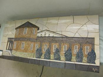 保育園 新築記念 壁掛