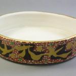 金彩菓子鉢